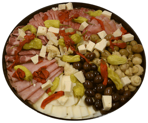 An Antipasto platter from Public Market is a perfect way to start off any event
